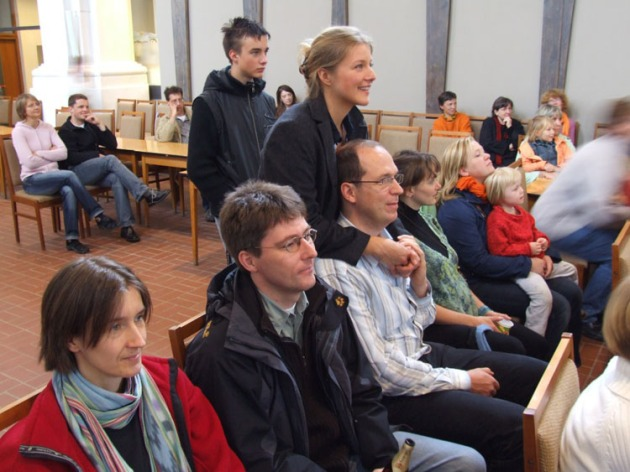 Auftritt in der Petrikirche Freiberg/Sa.