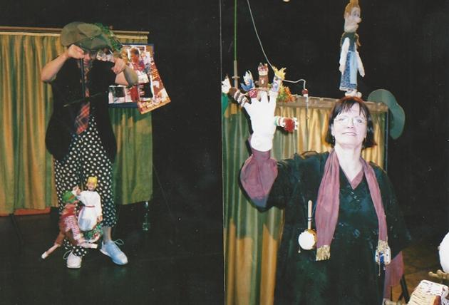 Puppentheater Böhmel in Amerika